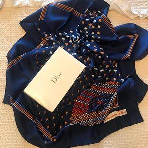 🧣Christian Dior Silk Scarf 🧣